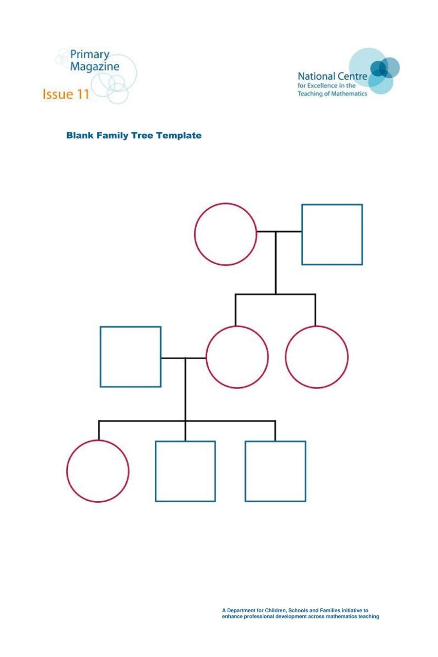 50+ Free Family Tree Templates (Word, Excel, Pdf) ᐅ Template Lab - Family Tree Maker Free Printable