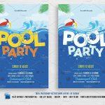 50 Unique Pool Party Flyer | Speak2Net   Pool Party Flyers Free Printable