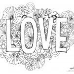 543 Free, Printable Valentine's Day Coloring Pages   Free Printable Valentine Decorations