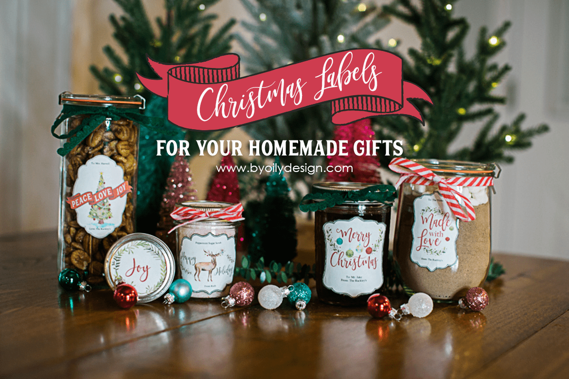 6 Adorable Free Labels That Will Make Your Diy Christmas Gifts A - Free Printable Jar Labels Christmas