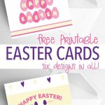 6 Free Printable Easter Cards Every Bunny Will Love   Holidays   Free Printable Easter Cards