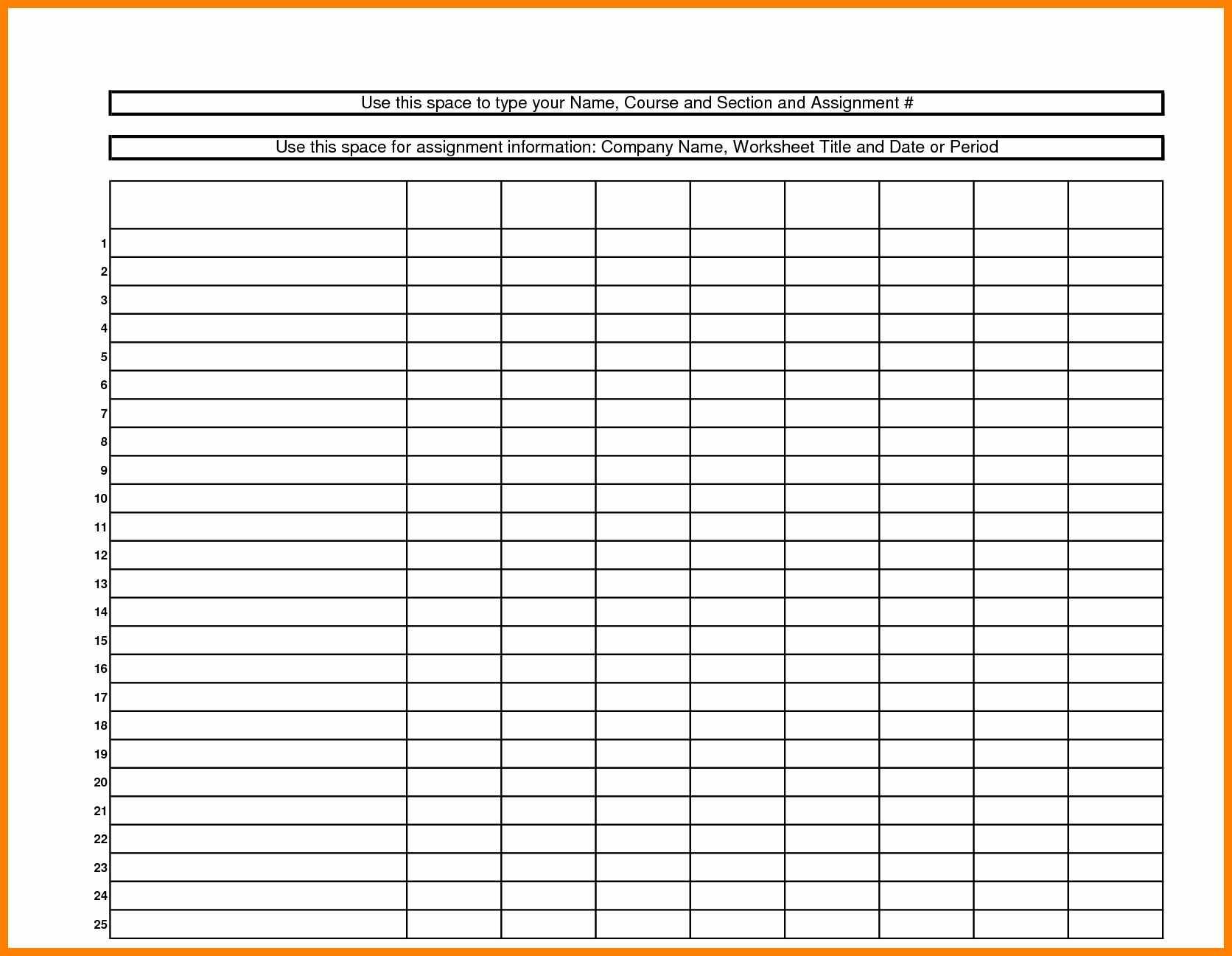 6+ Free Printable Spreadsheet | Credit Spreadsheet - Free Printable Spreadsheet