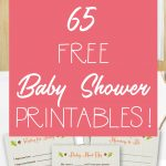 65 Free Baby Shower Printables For An Adorable Party   Free Printable Diaper Baby Shower Invitations
