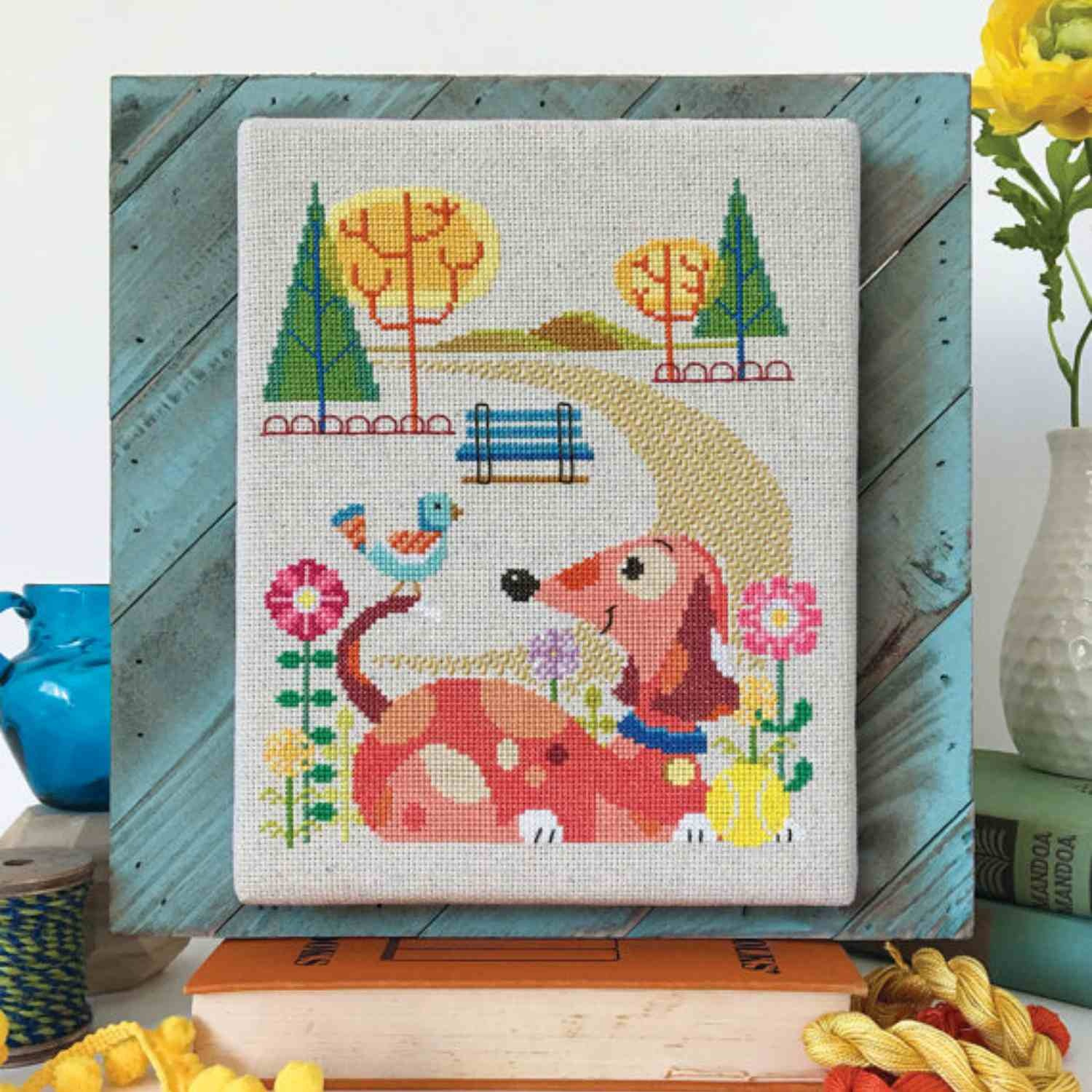7 Modern Cross-Stitch Designers From Traditional To Edgy - Free Printable Modern Cross Stitch Patterns