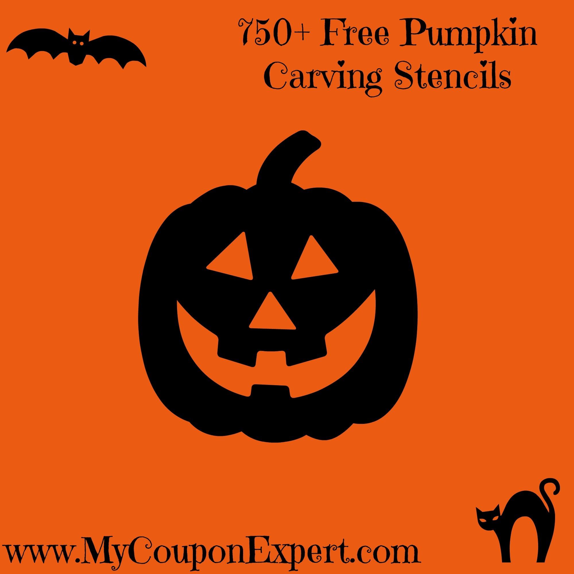 750+ Free Pumpkin Carving Stencils · - Free Pumpkin Printable Carving Patterns