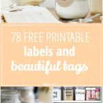 78 Free Printable Labels And Beautiful Tags – Tip Junkie   Free Printable Labels For Bottles