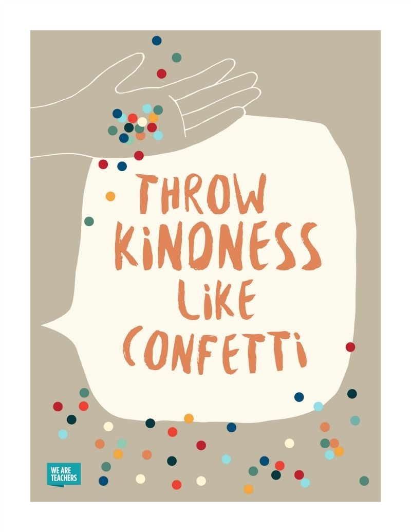 8 Free Kindness Posters To Help Spread The Love In Your Classroom - Free Printable Posters For Teachers