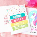 9 Free, Printable Birthday Cards For Everyone - Free Printable Birthday Cards For Her