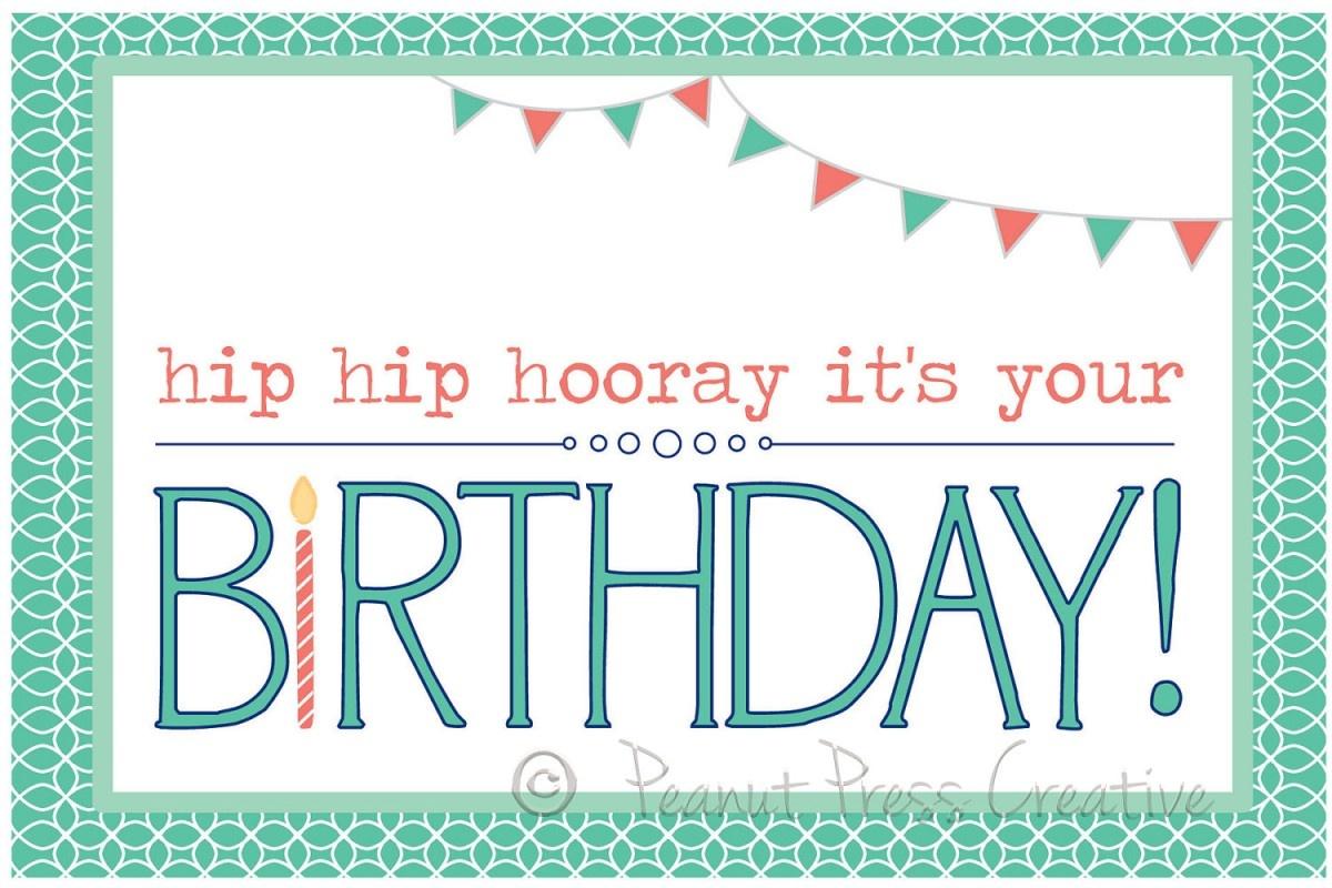 97+ Birthdays Cards To Print Free - Printable Birthday Card Maker - Free Printable Card Maker