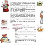 A Different Gingerbread Man Story Worksheet   Free Esl Printable   Free Printable Version Of The Gingerbread Man Story