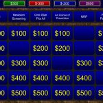 A Free Powerpoint Jeopardy Template For The Classroom. Keeps Track   Free Printable Jeopardy Template