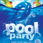 A K 12 Mascots Pool Party   Pool Party Flyers Free Printable