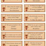 A List Maker's Life: Reindeer Riddles: Free Printable | Christmas   Free Printable Riddles