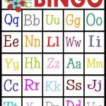 Abc's Bingo  Free Printable!   Sassy Sanctuary   Free Printable Alphabet Bingo Cards
