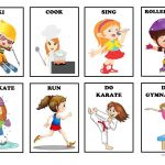 Action Verbs   Flash Cards (Set 3) Worksheet   Free Esl Printable   Free Printable Spanish Verb Flashcards