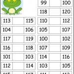 Adorable Free Worksheets For Missing Numbers 0   120. It Also   Free Printable Hundreds Chart To 120