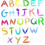 Alphabet Letter Pictures | Free Download Best Alphabet Letter   Free Printable Clip Art Letters