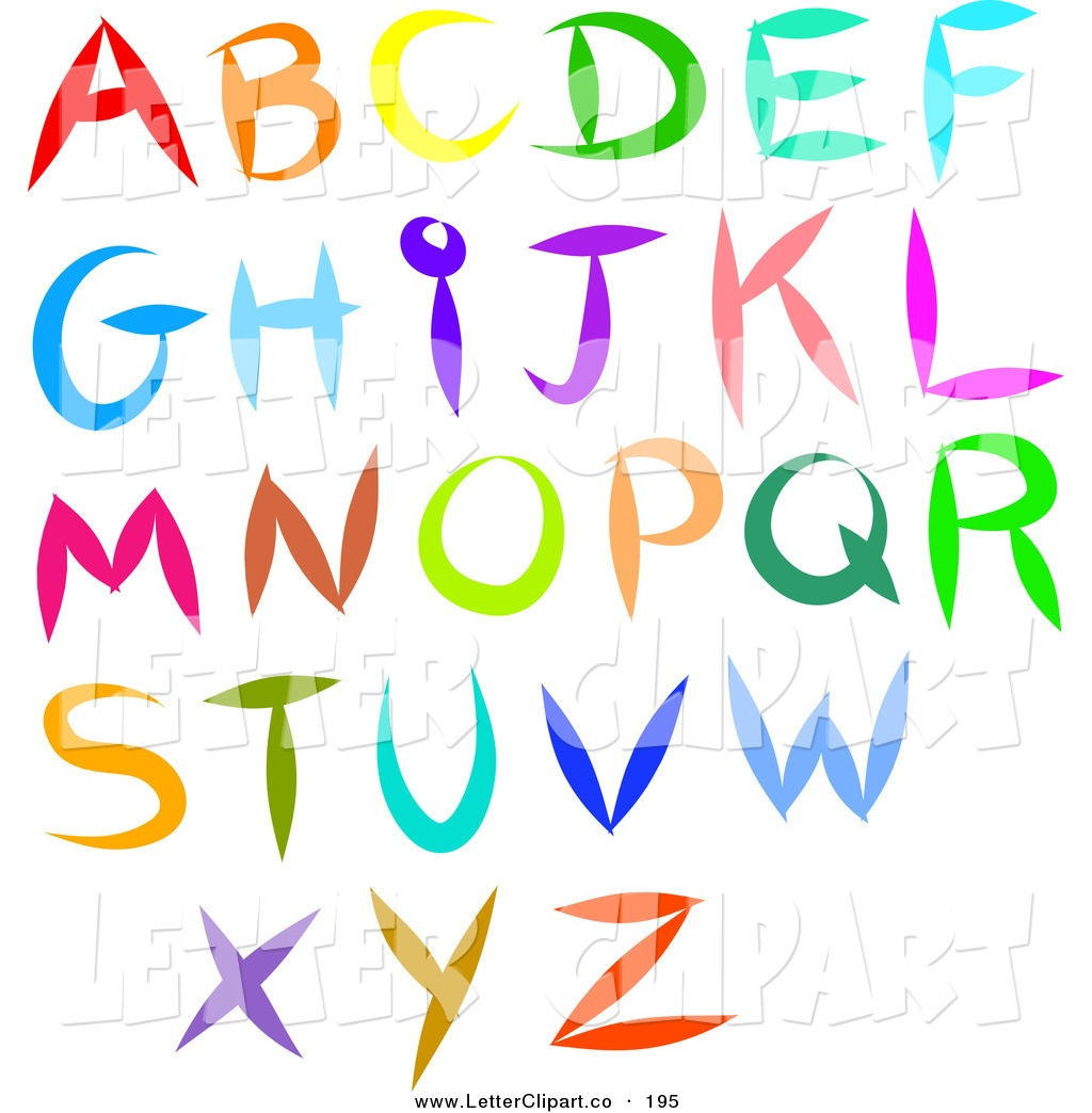 Alphabet Letter Pictures | Free Download Best Alphabet Letter - Free Printable Clip Art Letters