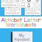 Alphabet Worksheets | Free Printables | Letter Worksheets, Alphabet   Free Printable Alphabet Pages