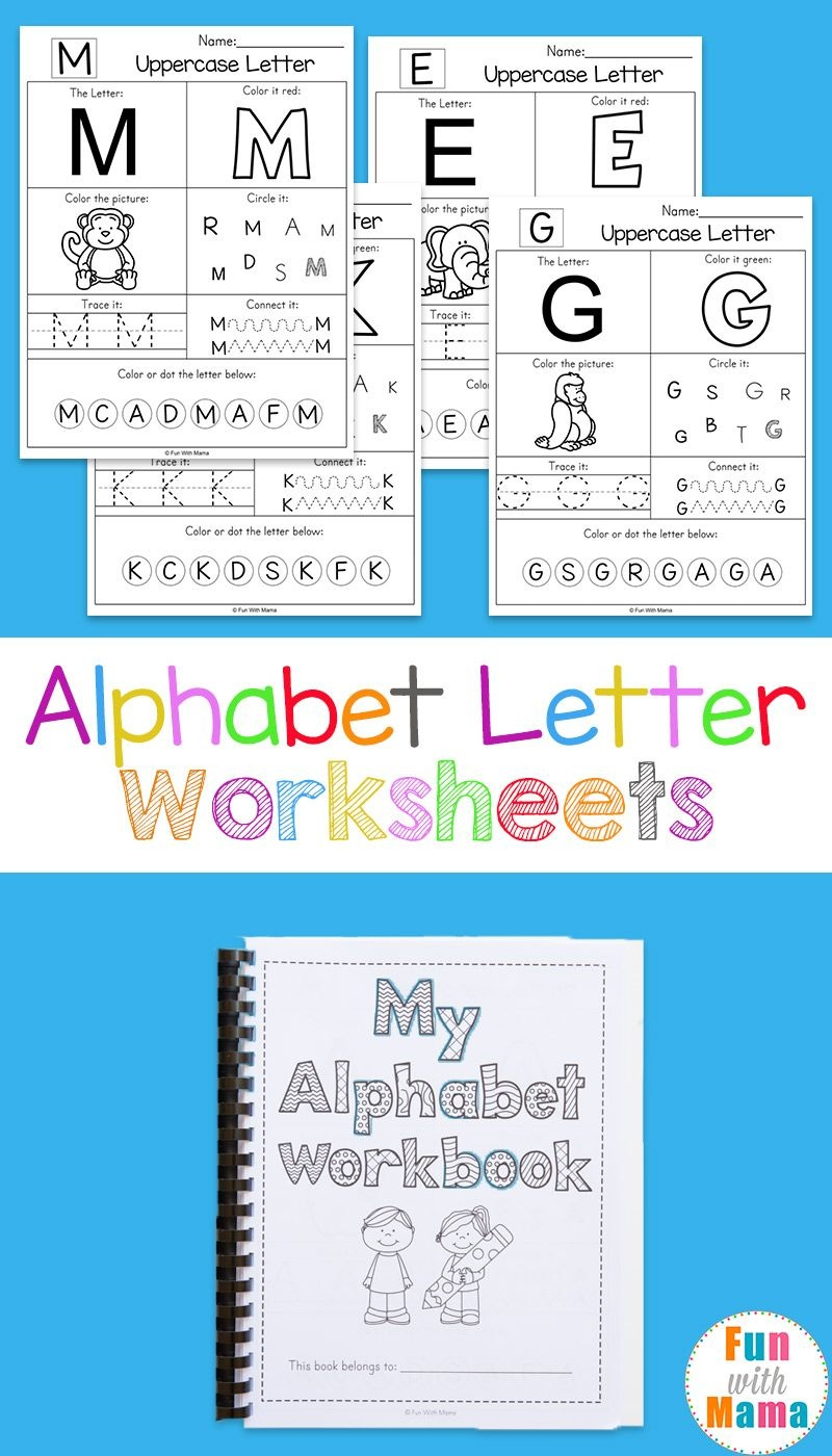 Alphabet Worksheets | Free Printables | Letter Worksheets, Alphabet - Free Printable Letter Worksheets