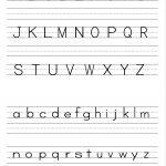 Alphabet Writing Practice Sheet | Edu Fun | Alphabet Worksheets   Free Printable Handwriting Sheets For Kindergarten