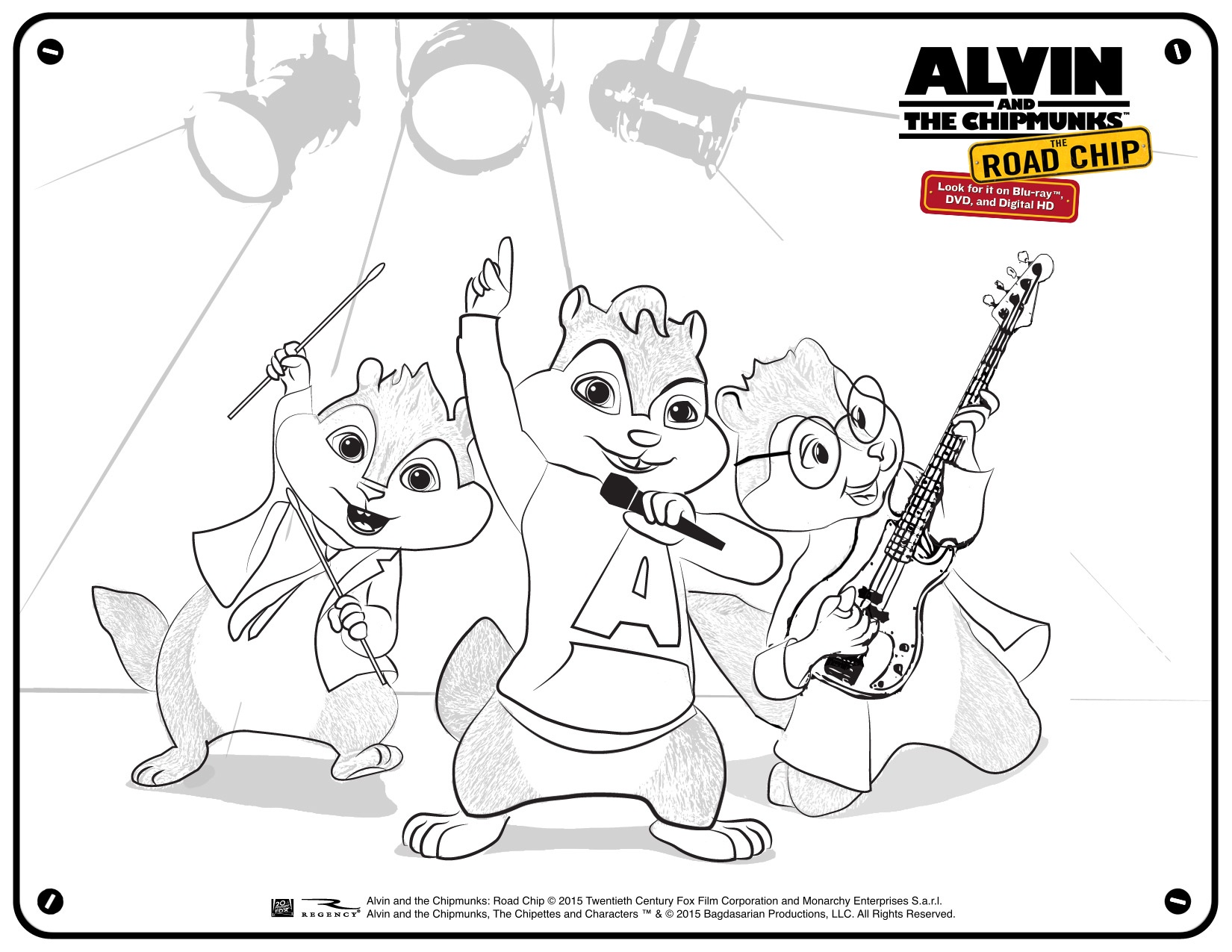 Alvin And The Chipmunks - Road Chip Partner Toolkit - Free Printable Chipmunk Mask