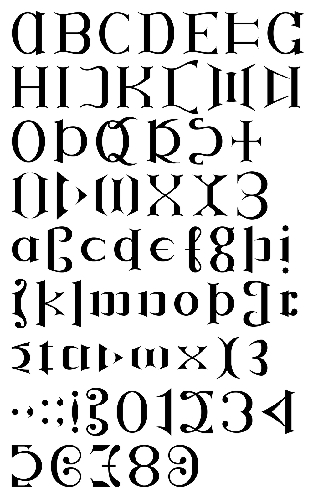 Ambigram Font | Graphic Design: Ambigrams | Tattoo Fonts, Ambigram - Ambigram Generator Free Printable