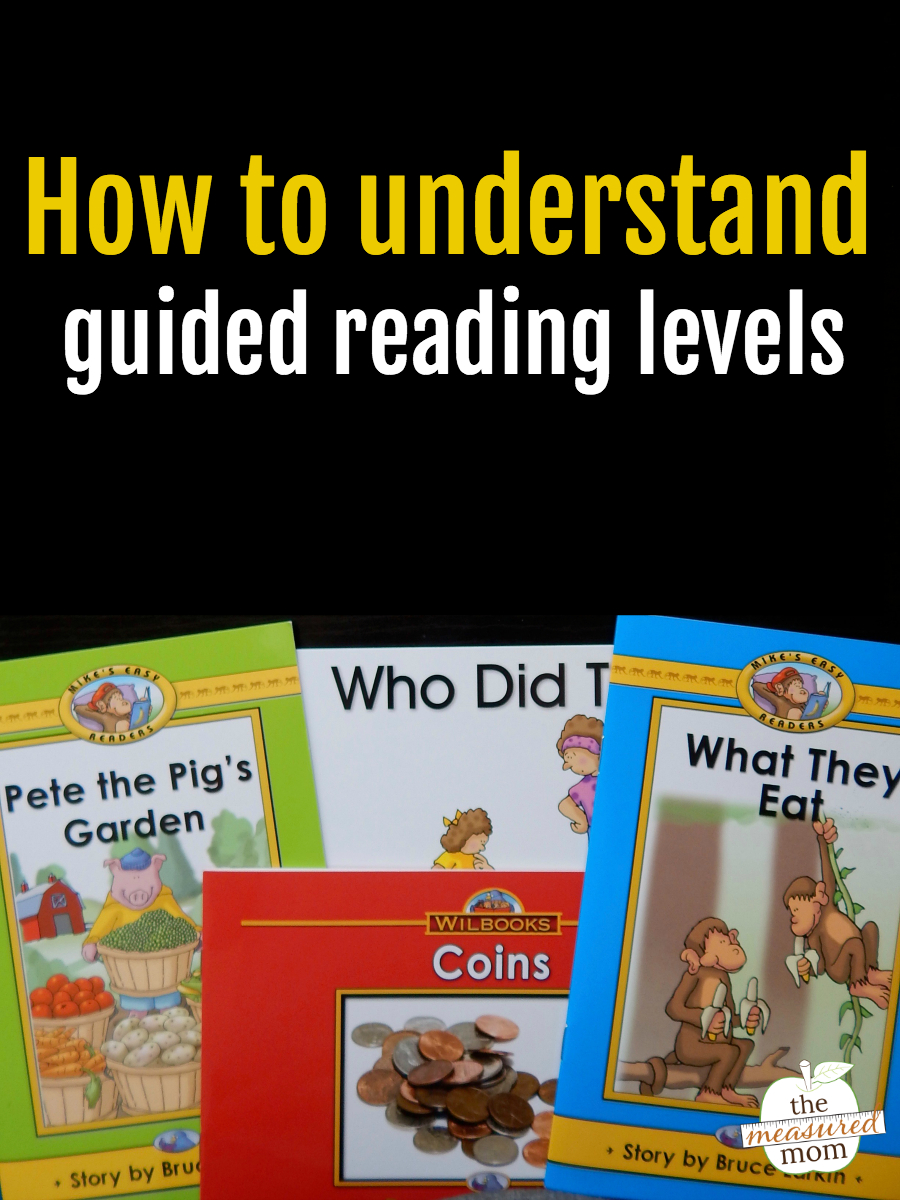 An Overview Of The Guided Reading Levels - The Measured Mom - Free Printable Level H Books