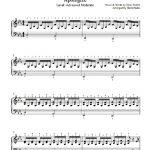 Apologizeone Republic Piano Sheet Music | Advanced Level   Apologize Piano Sheet Music Free Printable