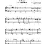 Apologizeone Republic Piano Sheet Music | Rookie Level   Apologize Piano Sheet Music Free Printable