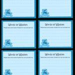 Baby Advice Cards Free Printable | Free Printable Words Of Wisdom   Free Printable Baby Advice Cards