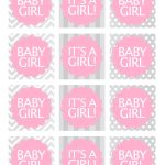 Baby Girl Shower Free Printables | Baby Shower Ideas | Baby Shower   Free Printable Baby Shower Label Templates