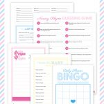 Baby Shower Free Printables! | Baby Shower Bliss! | Baby Shower   Free Baby Shower Games Printable Worksheets