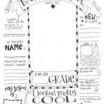Back To School Coloring Pages | Skip To My Lou   Free Printable First Day Of School Coloring Pages