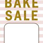 Bake Sale Flyers – Free Flyer Designs   Create Free Printable Flyer