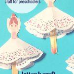 Ballerina Craft For Preschoolers   Kidz Activities   Free Printable Crafts