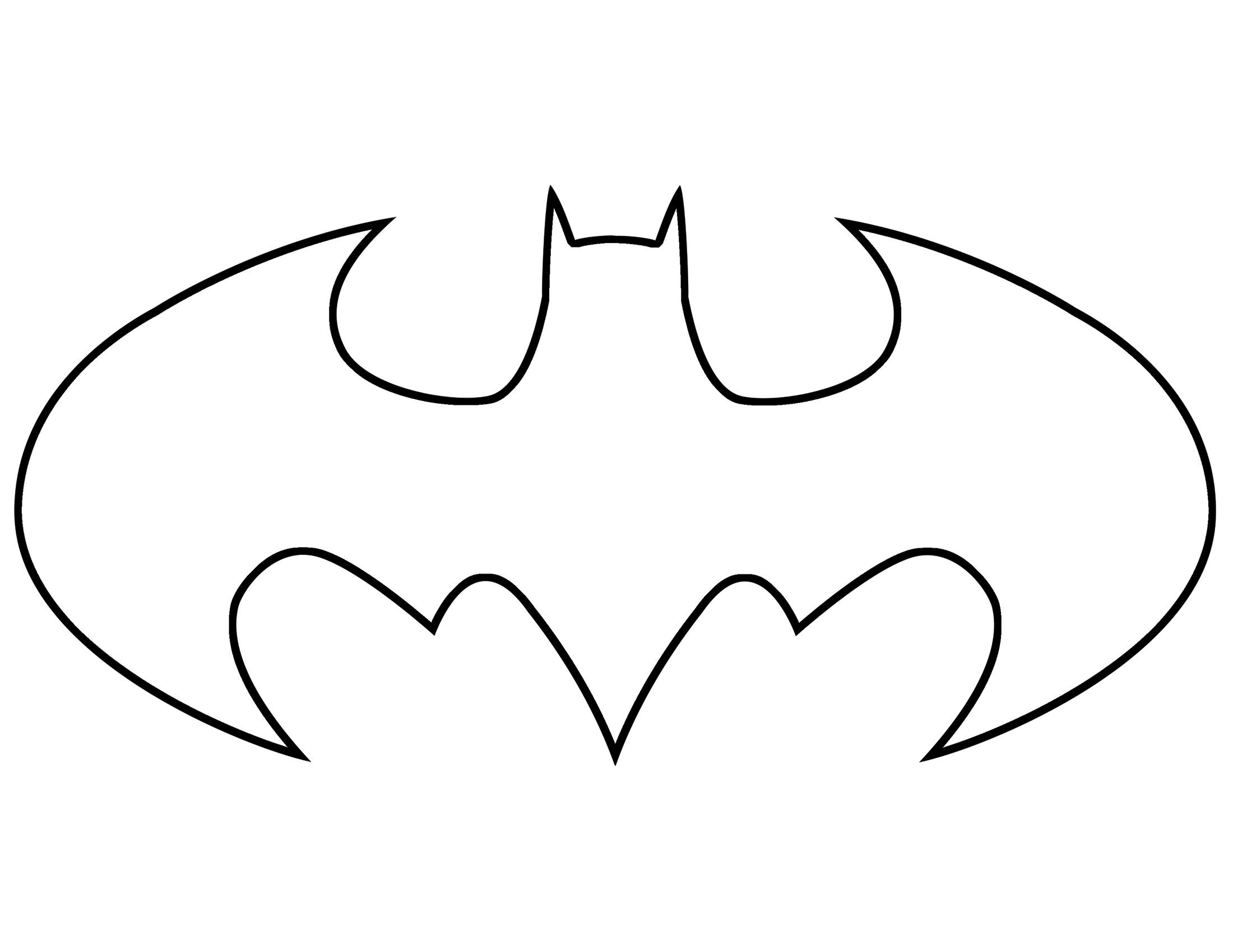 Batman Clipart | 45 Batman Symbol Template Free Cliparts That You - Superhero Pumpkin Stencils Free Printable