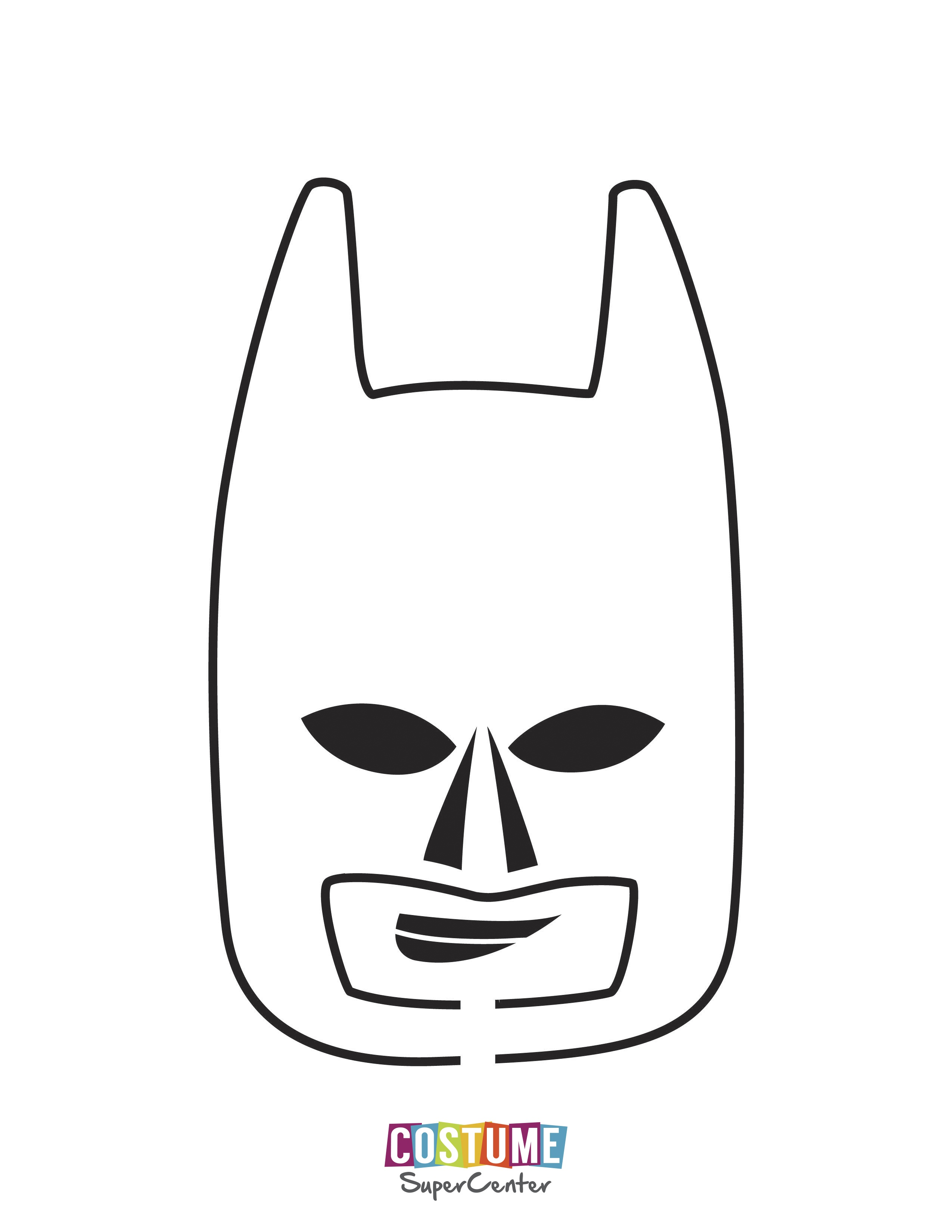 Batman Pumpkin Stencil - Honey & Denim - Superhero Pumpkin Stencils Free Printable