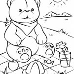 Bear Coloring Pages Coloring Pages Teddy Bear Coloring Sheet Adult   Teddy Bear Coloring Pages Free Printable