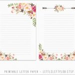 Beautiful Free Printable Stationery Templates | Best Of Template   Free Printable Stationery Writing Paper