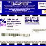 Bed Bath And Beyond Coupons   Bed Bath And Beyond Coupons   Free Printable Bed Bath And Beyond 20 Off Coupon