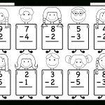 Beginner Subtraction – 10 Kindergarten Subtraction Worksheets / Free   Free Printable Subtraction Worksheets