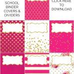 Binder Covers / Dividers Free Printables | Plans | Binder Covers   Free Printable Dividers