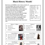 Black History Month! Worksheet   Free Esl Printable Worksheets Made   Free Printable Black History Month Word Search