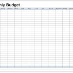 Blank Monthly Budget Template Pdf | Blank Templates | Budgeting   Free Printable Monthly Expense Sheet
