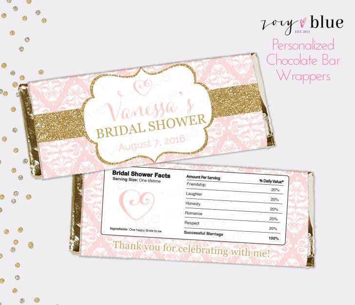 Free Printable Candy Bar Wrappers For Bridal Shower