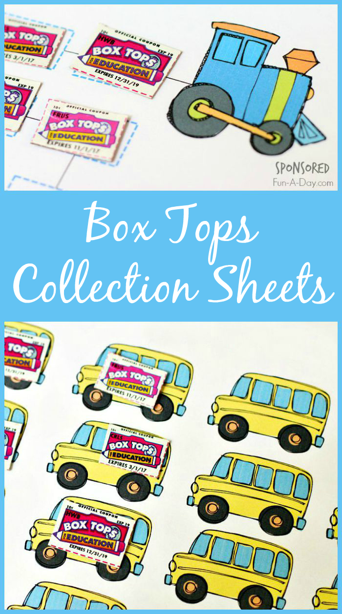 Box Tops For Education Collection Sheets | New Teachers | Box Top - Free Printable Box Tops For Education