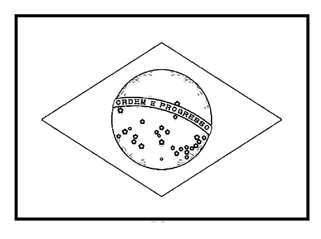 Brazil Flags For Coloring | Work | Brazil Flag, Flag Coloring Pages - Free Printable Brazil Flag