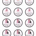 Bridal Shower Cupcake Picks Bridal Shower Free Printables New Free   Free Printable Cupcake Toppers Bridal Shower