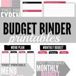 Budget Binder Printables   Single Moms Income   Free Printable Budget Binder